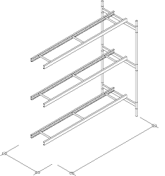 3-Level Single Wide Conveyor Addition Section