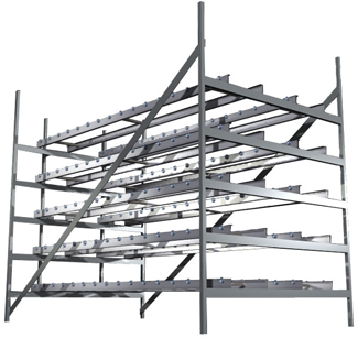 Multi-Level Mold Storage Rack