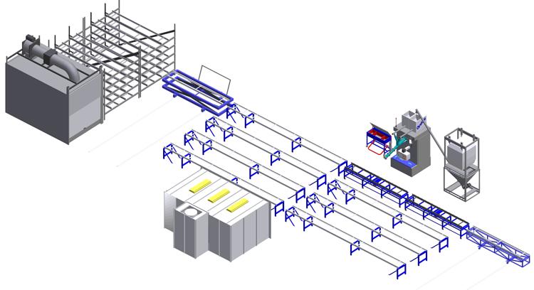 Multi-Level Mold Storage or Conveyor System - grubersystems.com