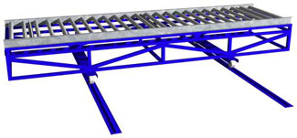Gruber Roller Mold Conveyor