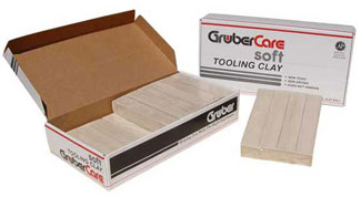Gruber Extrudable Soft Tooling Clay