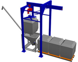 Bulk Bag Gantries are used to lift Bulk Bags (aka Super Sacks) into position over a Ground Hopper, and usually used in conjunction with Gruber Systems' Autocaster Ultra continuous casting systems.