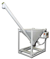 Gruber Self-Metering Ground Hopper