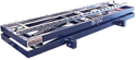 Transfer molds to and from elevated or multi-level conveyor or mold storage systems