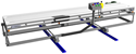 Reposition and adjust height to optimize your existing conveyor for use with the Gruber Autocaster casting system.