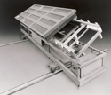 Tilt/Rotate Gelcoat Exchange Carts