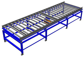Gruber 3-Phase Electric Roller Vibration Table
