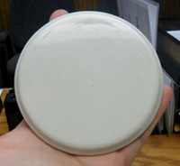 Coaster sample mold example