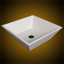 Square vessel bowl mold design example