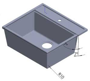 European Styled Kitchen Sink Mould Collection - grubersystems.com
